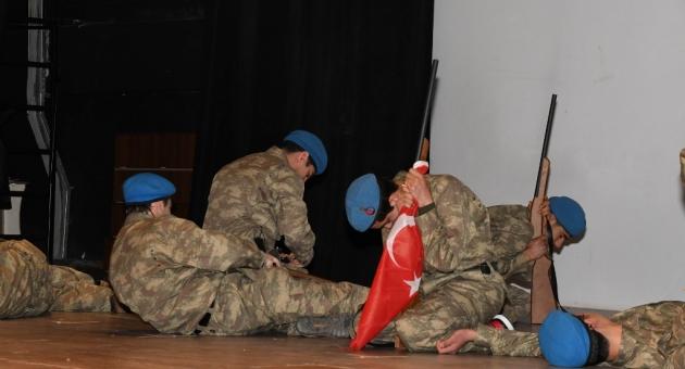 18 Mart Şehitleri Anma Günü Ve Çanakkale Zaferi Programı Düzenlendi