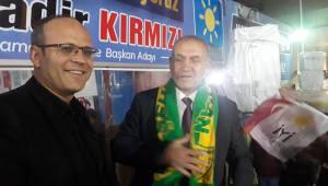Belediye Başkanı Adayı KIRMIZI'dan Adıyaman Spora Destek