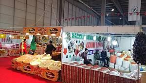Adıyaman'da 5. Gıda-Yöresel Ürünler, Hediyelik Eşya ve El Sanatları Fuarı açıldı.
