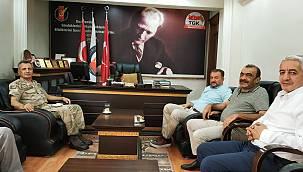 Alay Komutanı ALBAY Ercan ATASOY'dan AGC'ye Ziyaret