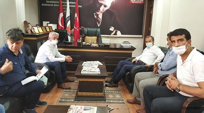 Başkan KILINÇ'DAN AGC'ye Ziyaret