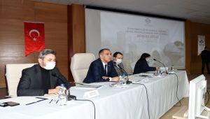2021 Yılı 1. İl Koordinasyon Kurulu toplantısı Vali Çuhadar Başkanlığında yapıldı