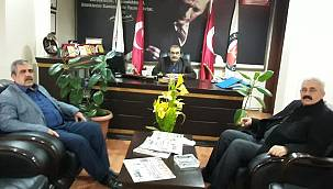 Türkiye Değişim Partisi Adıyaman İl Başkanı Mustafa Fırat ve Merkez İlçe Başkanı Hasan Doğan'dan AGC'ye Ziyaret
