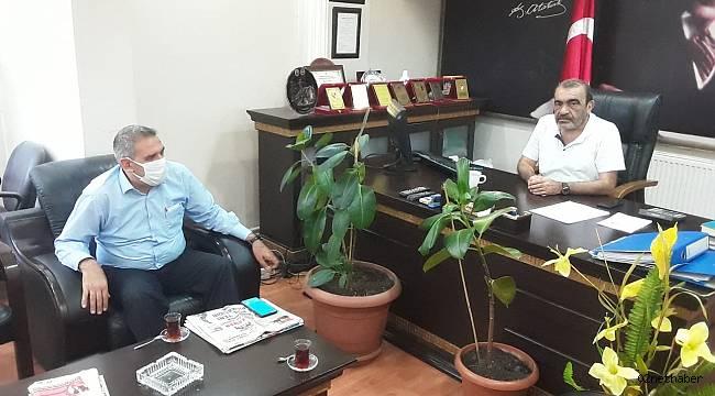 Erdoğan'dan Başkan Dişkaya'ya Ziyaret