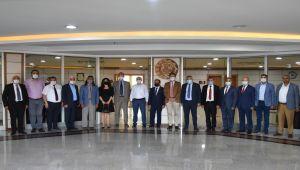 AB Büyükelçisi Landrut'tan MTSO'ya ziyaret