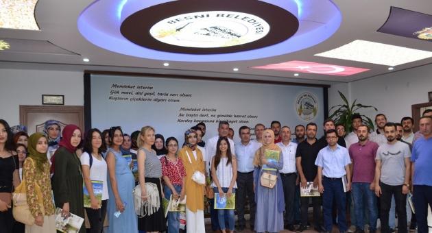 Aday Öğretmenlerden Besni Belediyesine Ziyaret