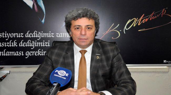 ADD Adıyaman Şube Başkanı Palalı, Hatay'da Atatürk Büstüne Yapılan Saldırıyı Kınadı