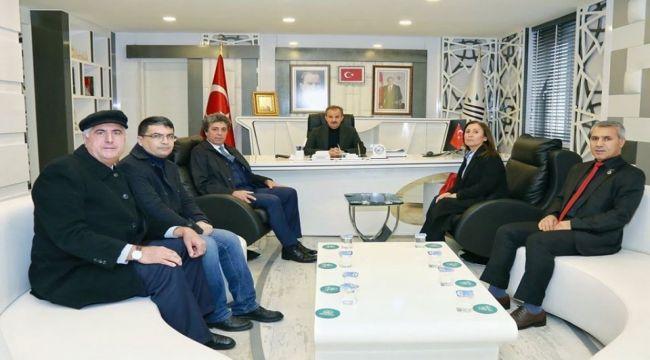 ADD Yönetiminden Belediye Başkanı Kılınç'a Ziyaret