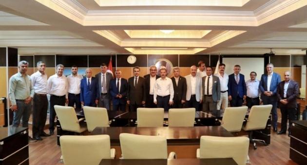 Adıyaman Belediyesi, Belediyeler Birliği Toplantısına Ev Sahipliği Yaptı