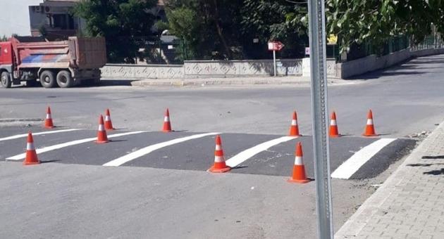 Adıyaman Belediyesi'nden Trafik Düzenlemesi
