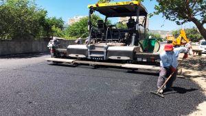 Adıyaman Belediyesi Yeni Mahalle'de asfalt çalışması yaptı