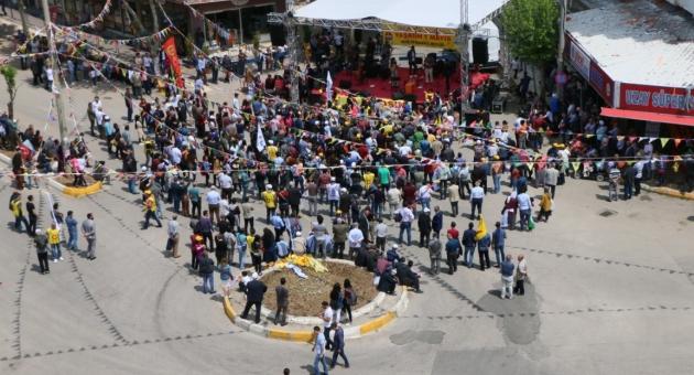 Adıyaman'da 1 Mayıs Emek ve Dayanışma Günü Kutlandı