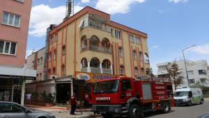 Adıyaman'da baca yangını korkuttu - Videolu Haber