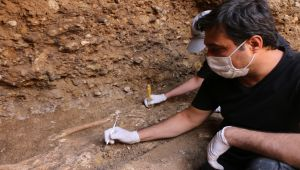 Adıyaman'da bin 500 yıllık oda mezarlardan 7 insan iskeleti çıktı - Videolu Haber