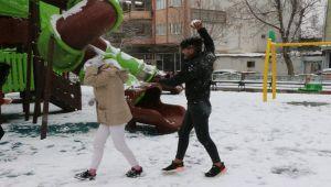 Adıyaman'da Buzlanma Nedeniyle Eğitime Bir Gün Ara Verildi