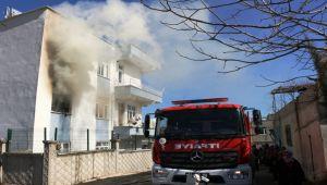 Adıyaman'da çıkan yangında ev kül oldu - Videolu Haber