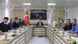 Adıyaman'da Çocuk İzlem Merkezi Faaliyetleri Değerlendirme Toplantısı