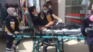 Adıyaman'da elektrik akımına kapılan genç yaralandı - Videolu Haber