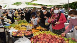 Adıyaman'da halk pazarı koronavirüs tedbirlerine uyarak açıldı - Videolu Haber