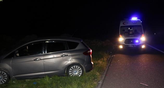 Adıyaman'da İki Otomobil Çarpıştı: 3 Yaralı