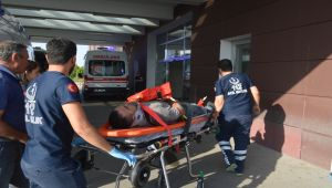 Adıyaman'da İskeleden Düşen İşçisi Yaralandı - Videolu Haber