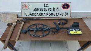 Adıyaman'da Kaçak Kazı Operasyonu: 17 Gözaltı