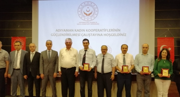 Adıyaman'da Kadın Kooperatiflerini Güçlendirme Çalıştayı