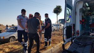 Adıyaman'da motosiklet devrildi : 2 yaralı