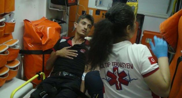 Adıyaman'da Motosiklet  Kazası: 1 Yaralı