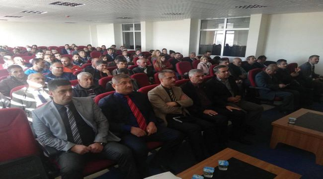 Adıyaman'da Okul Sporları Bilgilendirme Toplantısı