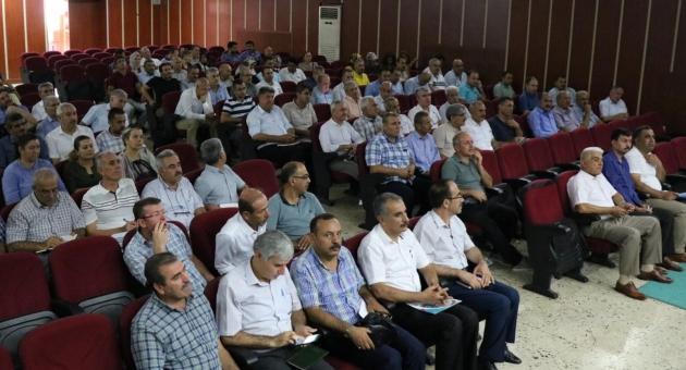 Adıyaman'da Okul Yöneticileri Eğitim Öğretim Toplantısı