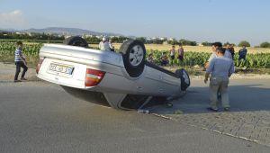Adıyaman'da otomobil devrildi: 3 yaralı - Videolu Haber