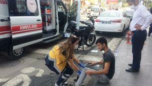 Adıyaman'da otomobil ile motosiklet çarpıştı:1 yaralı - Videolu Haber