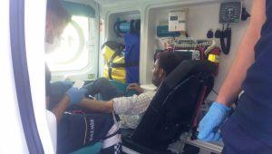Adıyaman'da otomobilin çarptığı kişi yaralandı - Videolu Haber