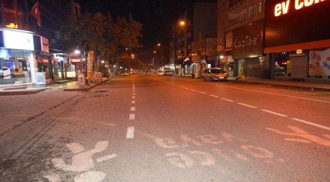 Adıyaman'da sokağa çıkma kısıtlaması