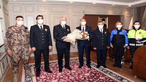Adıyaman'da Türk Polis Teşkilatı'nın 176. kuruluş yıl dönümü etkinliği