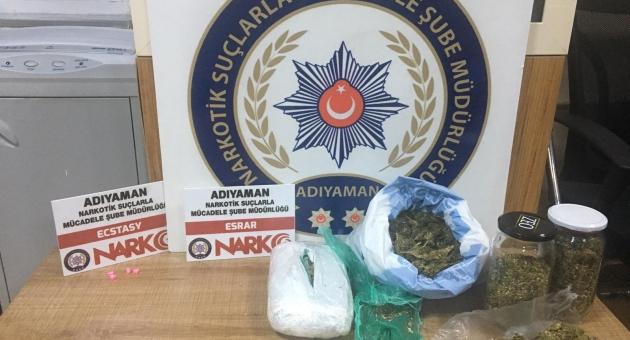 Adıyaman'da Uyuşturucu Operasyonu: 2 Gözaltı