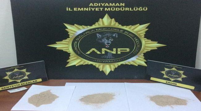 Adıyaman'da Uyuşturucu Operasyonu : 3 Tutuklama