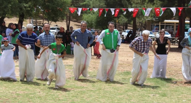 Adıyaman'da Yetim ve Öksüz Çocuklar Gönüllerince Eğlendi