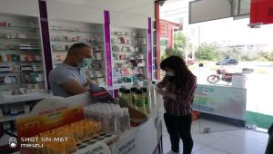 Adıyaman'daki işyerleri ve işletmelere koronavirüs denetimi