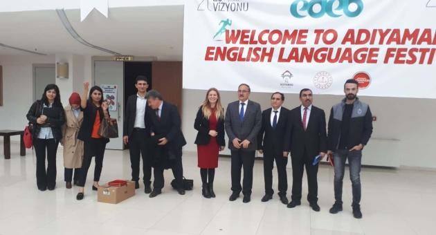 Adıyaman'daki Yabancı Dil Festivali Muhteşem Oldu