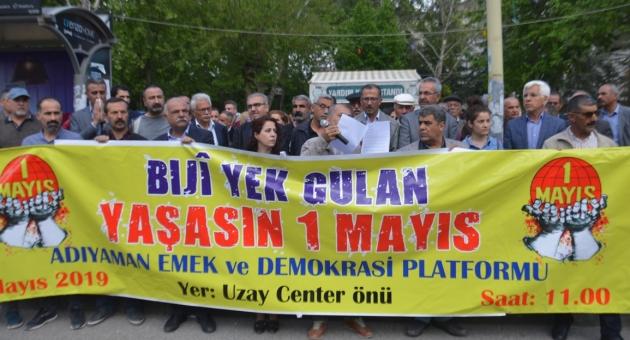 Adıyaman Emek Ve Demokrasi Platformu Üyelerinden 1 Mayıs Çağrısı - Videolu Haber