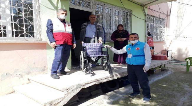 Adıyaman İl Müftülüğünden 2 Engeliye Tekerlekli Sandalye