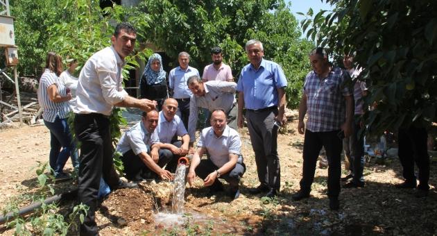 Adıyaman İl Tarım ve Orman Müdürü Alan'dan İşletme Ziyareti