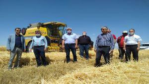 Adıyaman İl Tarım ve Orman Müdürü Kıyas'tan, Kahta'da tarım kurumlarına ziyaret