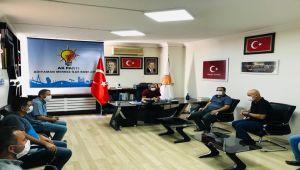 Adıyaman Kapalı Cezaevi personelinden AK Parti'ye teşekkür ziyareti