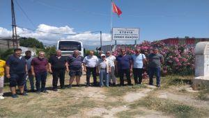 Adıyaman'lı çiftçilerden Balıkesir'e teknik gezi