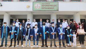 Adıyaman Mesleki Eğitim Merkezi, ilk lise diplomalı mezunlarını verdi