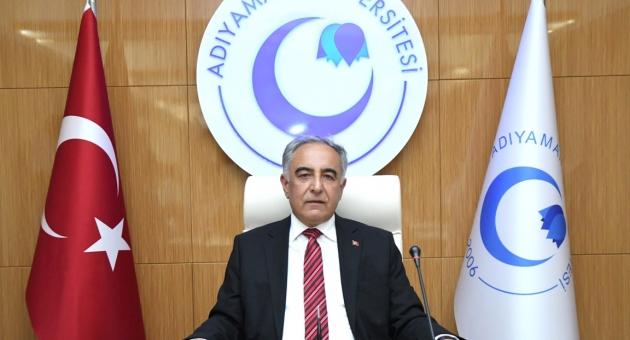 Adıyaman Üniversitesi Rektörlüğü Azez Şehidi İçin Başsağlığı Mesajı Yayımladı