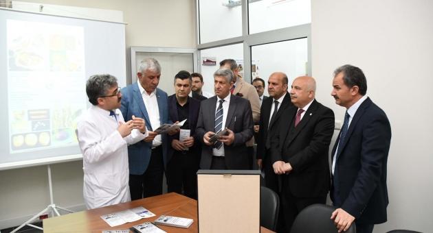 Adıyaman Üniversitesinde Bitki Sağlığı Teşhis ve Tanı Laboratuvarı Açıldı